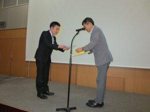 谷口智明先生は2019夏期講演会で奨励賞を受賞されました